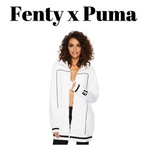 NWT Puma FENTY Tearaway Zip Up Track Jacket Size M